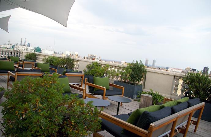 Terraza paradiso hotel alma stylebybrustylebybru - Restaurante alma barcelona ...