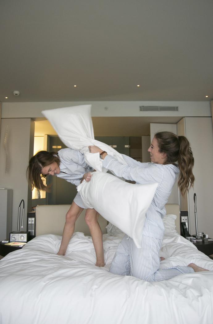 style byb bru blog marta maria vicky bargallo pijamas w barcelona hotel 12