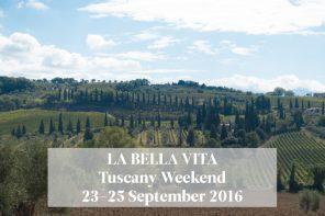 Dos días en la Toscana / Escape & Co